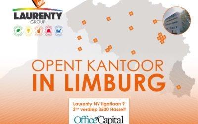 Laurenty opent een nieuw kantoor in Hasselt !