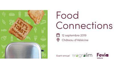 Laurenty sera présent à la Food Connections ce 12 septembre 2019