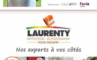"""Op 12 september 2019 kan je Laurenty terugvinden op het jaarlijkse evenement """"Food Connections"""""""