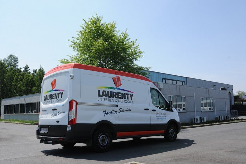 Camionnette Laurenty - 60 ans d'expérience