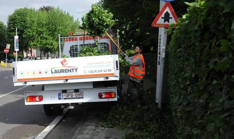 Service entretien des voiries - Laurenty