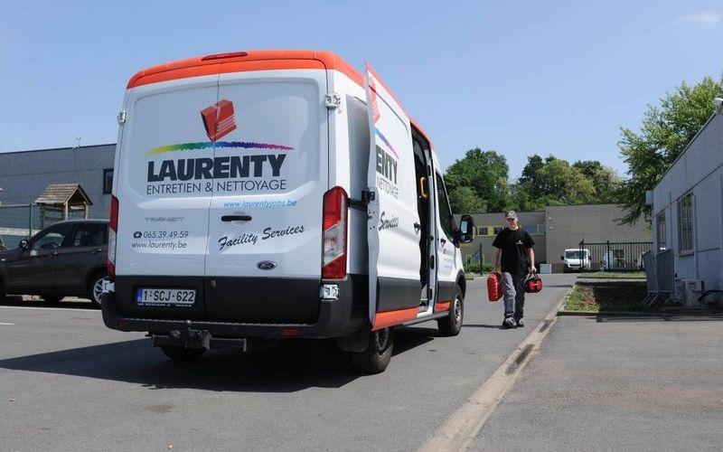 camionnette Laurenty - travaux de maintenance