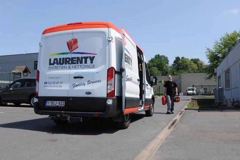 Camionnette Laurenty - service dans les meilleurs délais