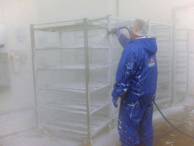 Service de nettoyage industriel - Laurenty Nettoyage