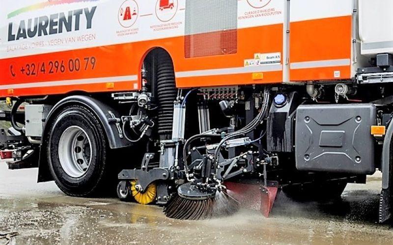 Nettoyage à haute pression - chemins publics et privés