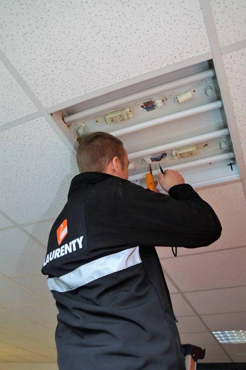 Laurenty Facility - Réparation éclairage