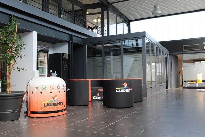 Robot de nettoyage Laurenty