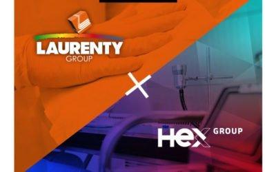 Nettoyage, désinfection et qualification des zones COVID-19: Partenariat Laurenty / HeX