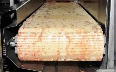 Nettoyage agroalimentaire tapis - avant