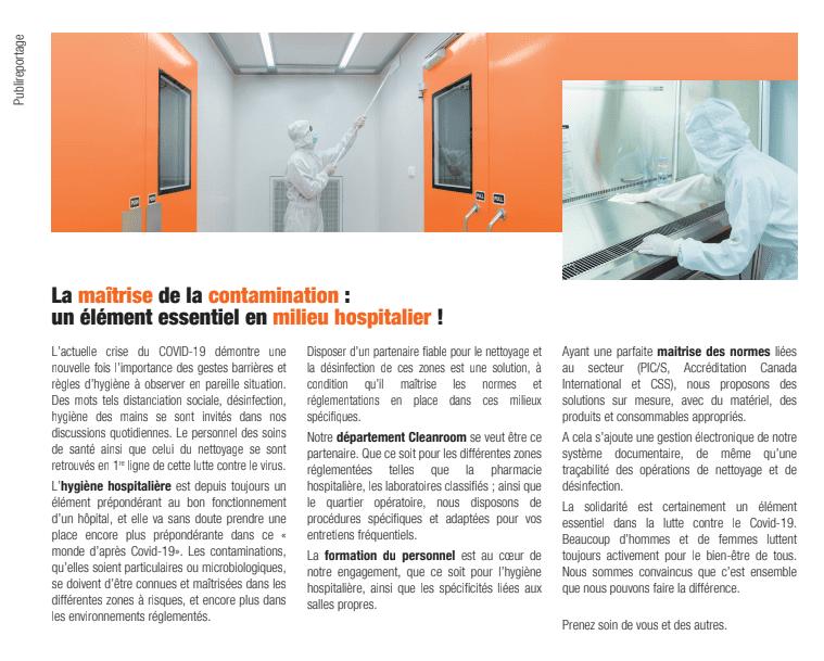 Magazine Hospitals - Crise du COVID-19
