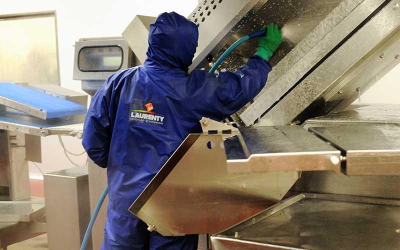Nettoyage agroalimentaire - Ateliers de production