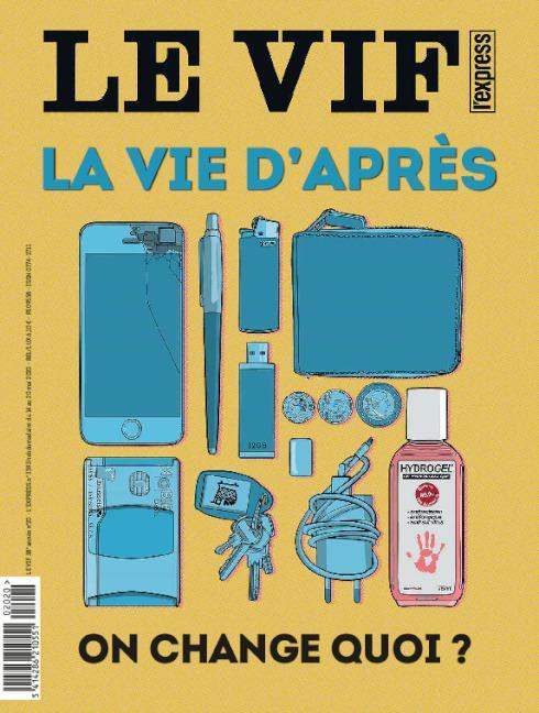 Couverture Le Vif L'Express - La vie d'après - 14 mai 2020