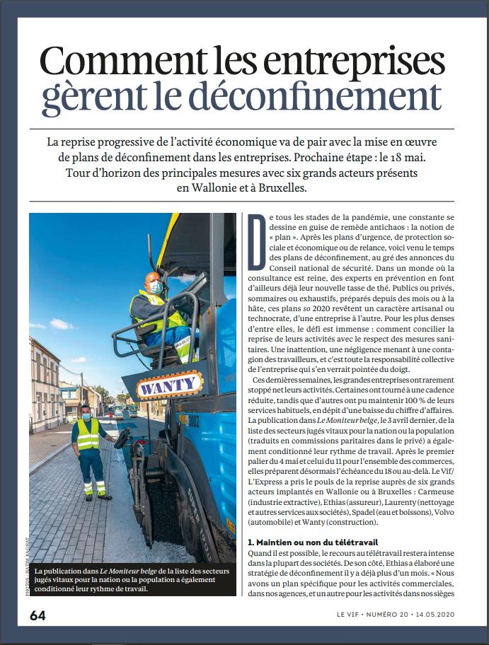 Article Laurenty - Le Vif L'Express - Partie 1