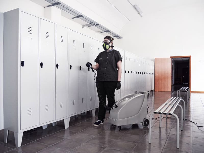 Service de nettoyage et de désinfection pour entreprises