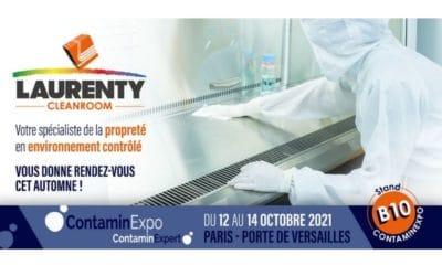 Laurenty vous fixe rendez-vous au salon ContaminExpo à Paris !