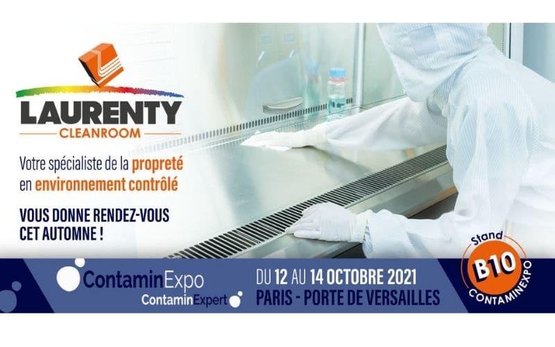 Laurenty cleanroom - ContaminExpo Paris 2021