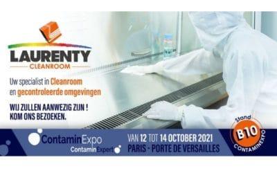 Laurenty zal aanwezig zijn op ContaminExpo in Parijs!